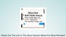 Halcyon 1400 mAh NB-11L Lithium Ion Replacement Battery for Canon Elph 115 HS, Elph 130 HS, Elph 320 HS, Elph 110 HS Canon PowerShot A2500, A2600, A2300, A2400 IS, A3400, A4000 IS, Canon Ixus 125 HS, 240 HS Digital Cameras NB11L Accessory Bundle Review