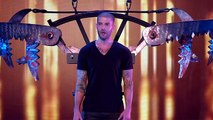 Darcy Oakes Jaw-dropping escape - Britains Got Talent 2014 Final(360p)