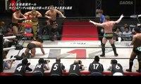 Novus (Jiro Kuroshio, Koji Doi, Rionne Fujiwara & Yusuke Kodama) vs. Andy Wu, Daiki Inaba, Hiroki Murase & Yasufumi Nakanoue