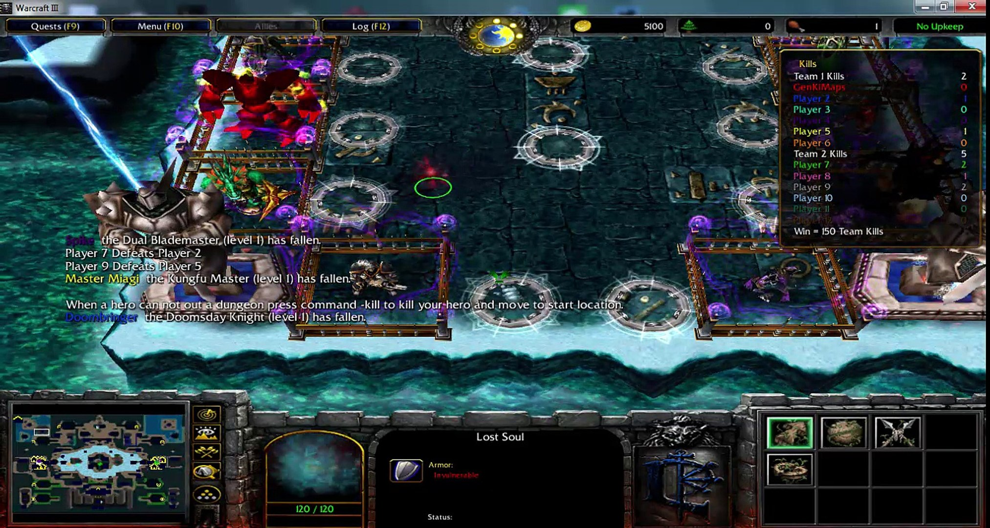 warcraft 3 frozen throne maps download