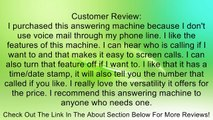 AT&T 1740 Digital Answering System with Time/Day Stamp Landline Telephone Accessory Review