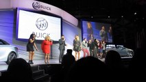 Buick Avenir Concept Car Musical Reveal with Mark Reuss at 2015 NAIAS Bob Giles NewCarNews.TV