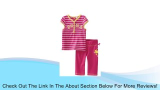 PUMA Little Girls Little Tee And Yoga Set Purple 4 Review