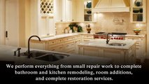 """Dunn-Wright Remodeling offers a wide variety of services for all of your home improvement needs. We perform everything from small repair work to complete bathroom and kitchen Remodeling, room additions, and complete restoration services.""""Our expertise ext"""