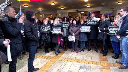 Arras, minute de silence en hommage aux victimes de l'attentat