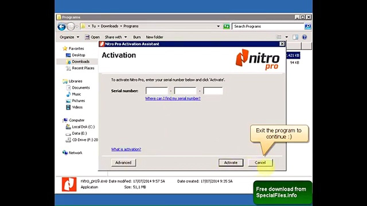 Nitro Pro 9 Serial Number