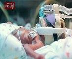 Les premiers jours d'un bébé prématuré né à 5 mois et demi, impressionnant...