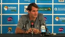 TENNIS - ATP - Brisbane - Federer : «Hewitt était le plus fort»