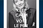 «Keep Calm and Vote Le Pen», nouvelle polémique au FN