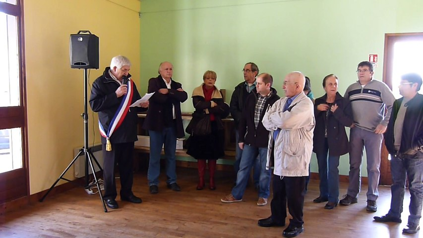 2015 01 11 Voeux Michel Gaborit, maire de Saint-Front sur Nizonne