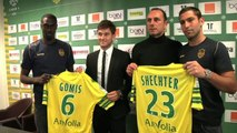 FOOT - TRANSFERTS - L1 - FCN : Gomis et Shechter présentés