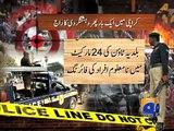 Geo News Headlines 12 January 2015_ Karachi Violence Killing