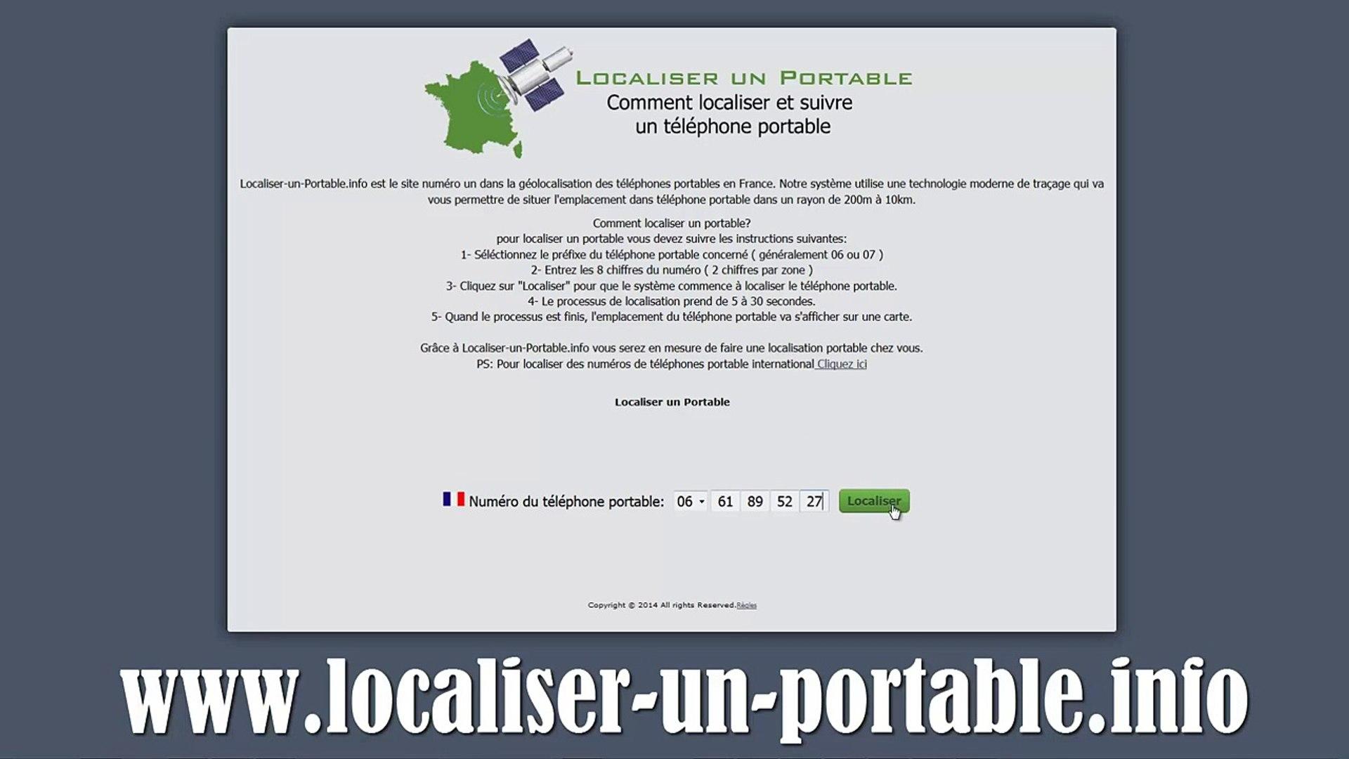 localisation portable info