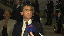 """""""Le racisme, l'antisémitisme et l'apologie du terrorisme sont des délits"""", déclare Manuel Valls."""
