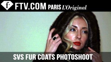 SVS Fur Coats Backstage photo shoot by Ferdo M | FashionTV