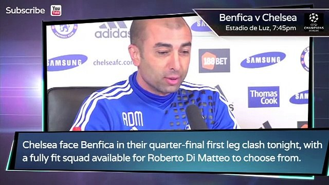 UEFA Champions League Preview Benfica v Chelsea - Dzeko to Madrid