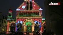 Grand succès des projections monumentales à Enghien-les-Bains