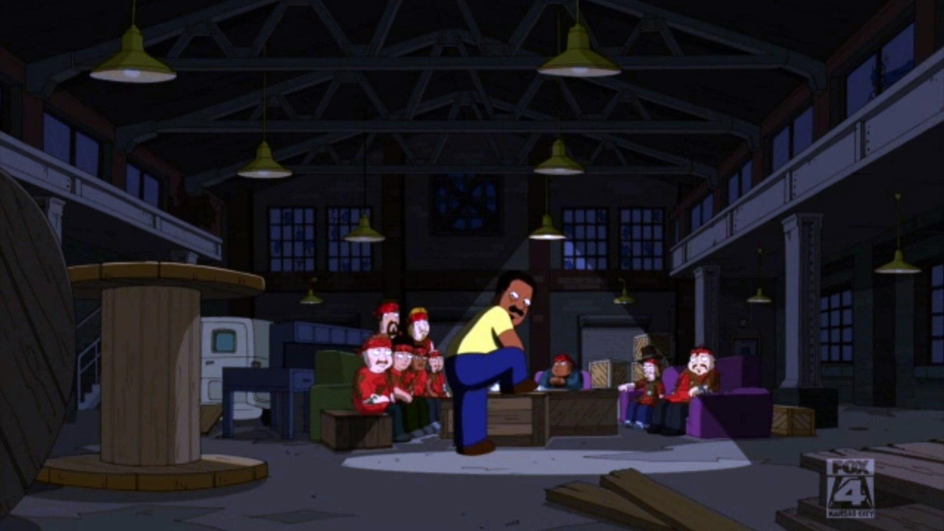The Cleveland Show S01E12 Clip#5.