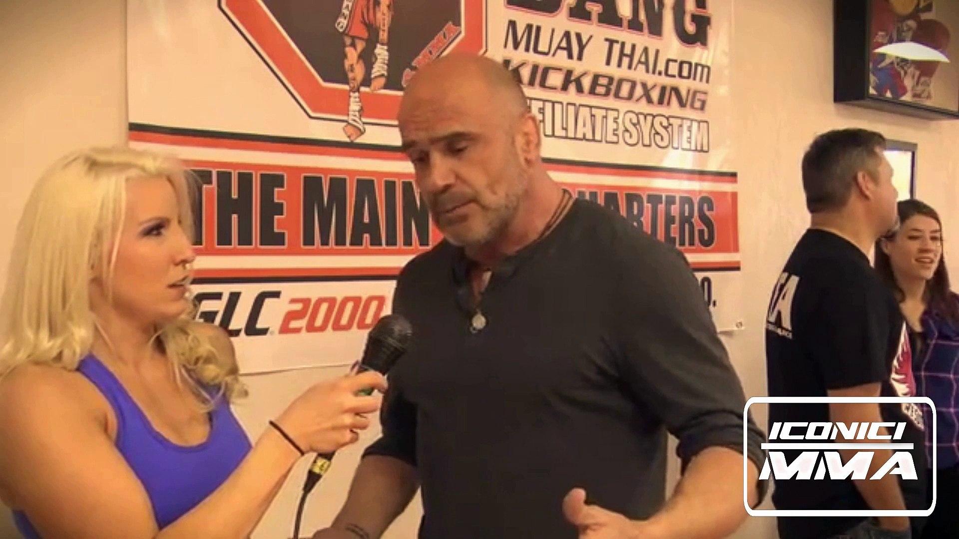 MMA Legend Bas Rutten On Iconici MMA