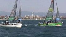 VOILE - TDF : Groupama 34 double vainqueur à Roses