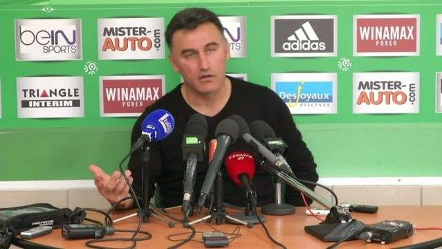 FOOT - L1 - ASSE - Galtier : «La saison ne doit pas s'arrêter au derby»