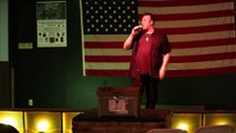 Scott Michael sings 'Don't Cry Daddy:In The Ghetto' Elvis Presley Memorial VFW