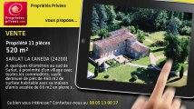 A vendre - propriété - SARLAT LA CANEDA (24200) - 11 pièces - 520m²