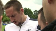 FOOT - BLEUS : Ribéry et Grenier, adeus Brasil !