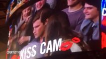 ---Woman Kisses Man Next to Her on Kiss Cam After Date Snubs Her