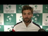 TENNIS - COUPE DAVIS - Clément: « Tous les joueurs en pleine forme »
