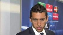 FOOT - C1 - PSG - Marquinhos : «Le foot c'est comme ça»