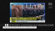 François Hollande remet la Légion d'honneur aux trois policiers tués dans les attentats