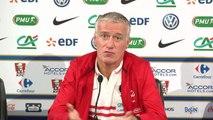 FOOT - BLEUS - Deschamps : «Mathieu et Dimitri jouent au même poste mais...»