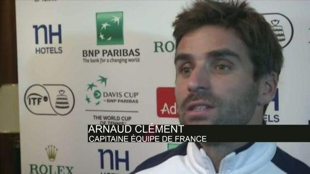 TENNIS - COUPE DAVIS - Clément : «Coup de chapeau à Gilles»