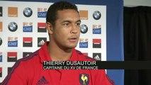 RUGBY - XV DE FRANCE - Dusautoir : «Bien terminer cette tournée»