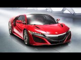 Honda Acura NSX Production Version At Detroit Motor Show 2015 !