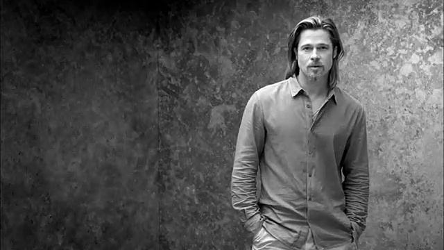"Chanel – parfum Chanel n°5, ""There you are, avec Brad Pitt"" – octobre 2012"