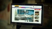 """Conforama - mobilier - août 2009 - """"Mes chers voisins, internet"""", """"Bien chez soi, bien moins cher."""""""