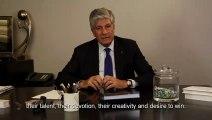 Carte de voeux interne de Maurice Lévy, président de Publicis, pour 2011, en chinois