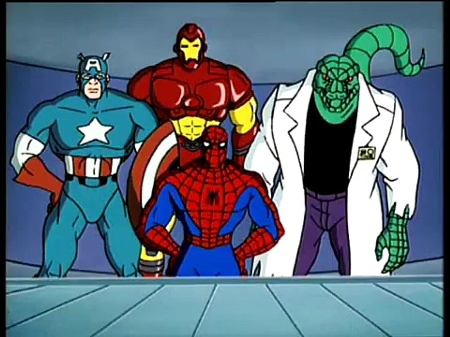 Spider Man The Animated Series Season 05 Episode 010 Secret Wars Chapter Ii The Gauntlet Of The Red Skull