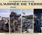 """Armée de terre - institution militaire, """"La minute emploi de l'armée de Terre, avec sengager.fr"""" - juin 2013"""