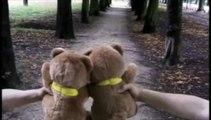 """Jemini - ours en peluche Grumly - octobre 1999 - """"amoureux"""""""