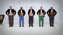 FCB Chicago pour Kmart - grand magasin, sous-vêtements Joe Boxer, «Show your Joe, Jingle Bellies» - novembre 2014