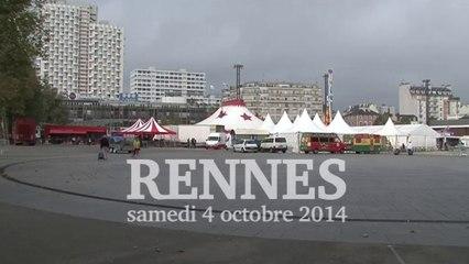 Les Gens du voyage font leur colloque - 2e édition samedi 4 octobre 2014 à Rennes Esplanade Charles de Gaulle