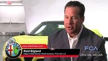 Interview with Reid Bigland on 2015 Alfa Romeo 4C Spider