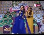 Qandeel baloch hot singer in Aplus morning show