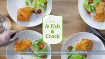 """Havas Worldwide Londres pour Iglo - poissons pânés Fish & Crock de colin, """"Le goût de la vie"""" - mars 2014"""
