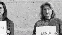 """Elle prend un coup, je prends un coup - association contre la violence conjugale, """"Le mur"""" - mars 2013"""