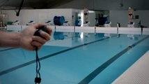 """EDF (Electricité de France) - fournisseur d'électricité, """"L'entraînement, Open EDF de natation"""" - juin 2011"""