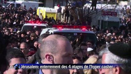 Israël enterre dans la douleur les quatre juifs tués en France